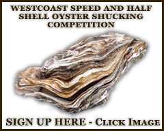 West Coast Speed and Half Shell Oyster Shucking Competition
